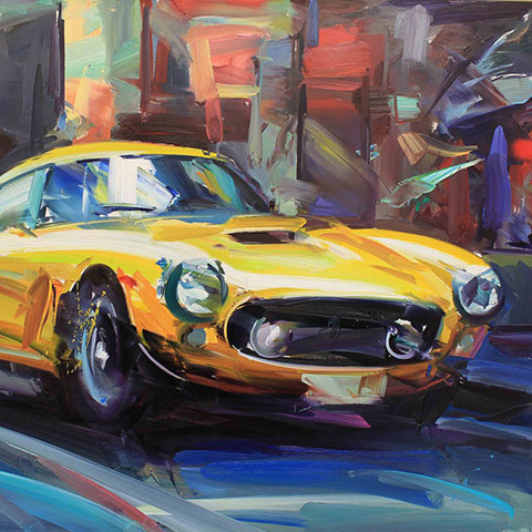 'Yellow Ferrari'