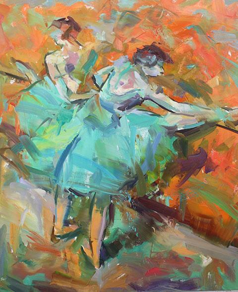 'Degas dancers'